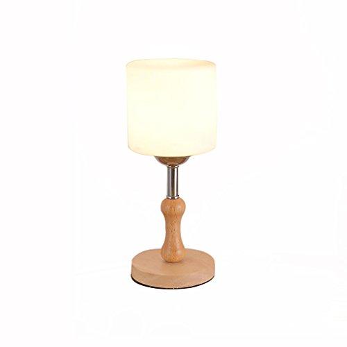 uus Lampe de table en forme de champignon en forme de champignon rond LED chambre lampe de chevet E27 ampoule Base 17 * 34CM lumière chaude (économie d'énergie A +) ( Couleur : Lumière chaude , taille : D-12*32cm )