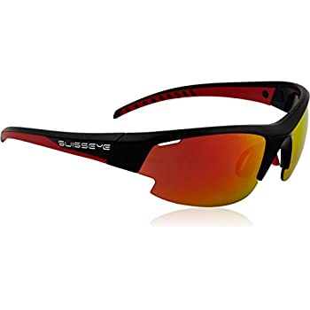 Swiss Eye Sportbrille Flash, Black Matt, One Size, 12241