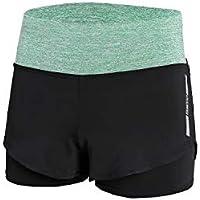 NEHO de Sport pour Femme Pantalon de Yoga Taille Plus entraînement Short  Legging Tissu Non Transparent 400b0df610b