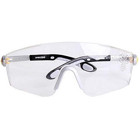 YONG Occhiali di sicurezza laterali antiurto antigraffio UV della nebbia