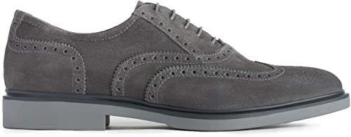 Nero giardini scarpa stringata bassa grigia art. p900790u/214 size 42
