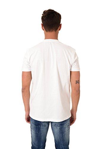 T shirt manica corta uomo Beverly Hills verde militare