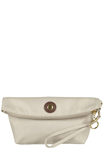 Capelli New York Clutch 'Furled' Taupe