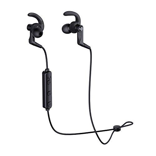 f2a8a1dd96b200 AUKEY Cuffie Bluetooth Sportive Auricolari Wireless con Microfono  Incorporato, 5 ore di Riproduzione per Huawei