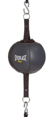 Everlast Double End Striking Bag Poire double attache Noir