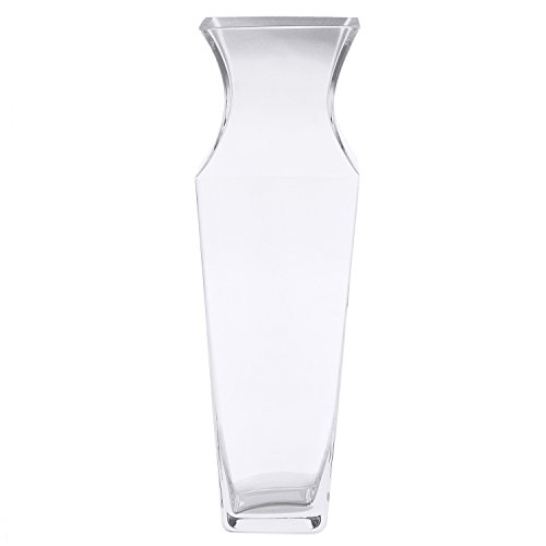 @home by Nilkamal Clear English Glass Vase pack of 1