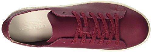 adidas Damen Stan Smith Nude Sneaker Dekollete, Vinaccio Rot (Collegiate Burgundy White)