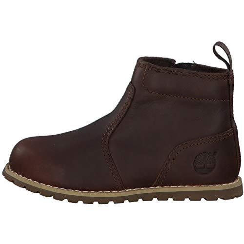 Timberland Boots - Timberland Pokey Pine Zip Chukka Boots - Dark Rubber