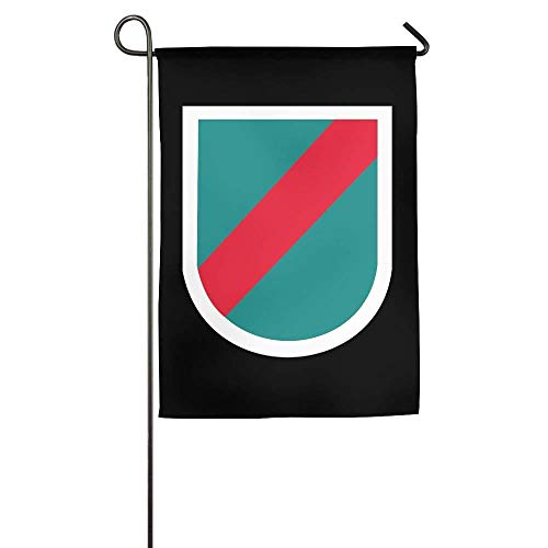 beautiful& 20th Special Forces Group Garden Flag Indoor & Outdoor Decorative Flags for Parade Sports Game Family Party Wall Banner 12.5x18 inches (20th Special Forces Group)