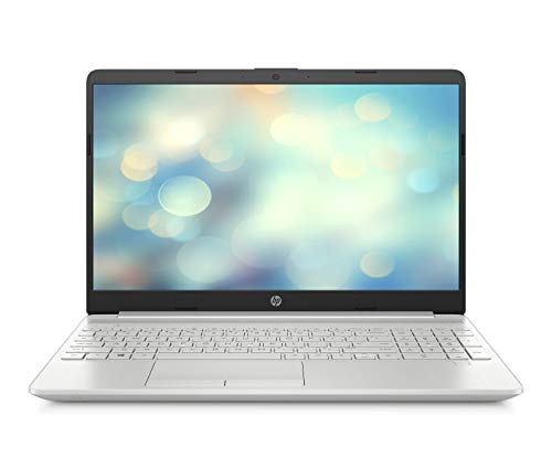 HP 15-dw0218ng (15,6 Zoll / FHD) Laptop (Intel Core i7 8565U, 16GB DDR4 RAM, 512GB SSD, Intel UHD Graphik 620, Windows 10 Home) Silber (15 Hp Notebook Ram)