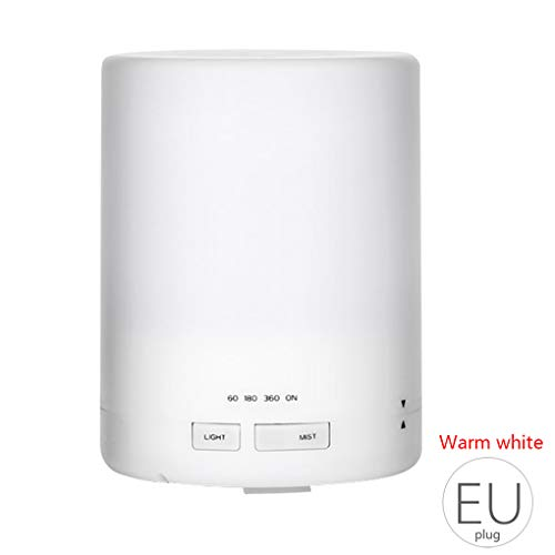 Mengonee EU-Stecker 300ml Home Mini Diffuser Aroma Ätherisches Öl Luftbefeuchter LED-Nachtlicht kühlen Nebel Bürodekoration - Trockene Haut Spa-formel