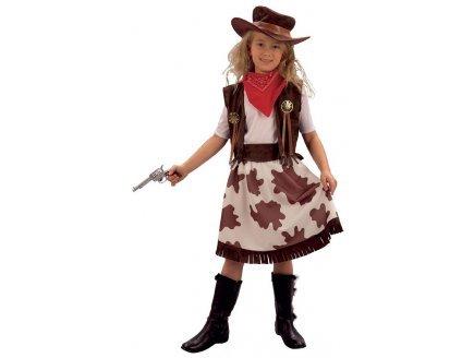 Fyasa 701563-t03Cowgirl Kostüm, Mittel (Kreative Cowgirl Kostüm)