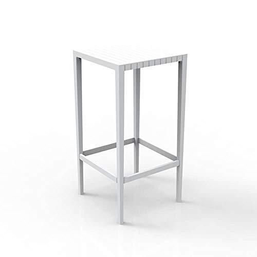 Vondom Spritz table haute pour l'extérieur 50x50 h.100 cm blanc