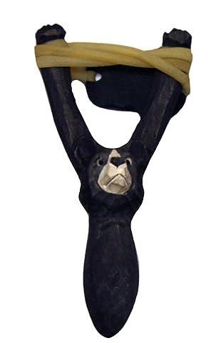 Lance Pierres - Grip Grip en bois sculpté pour lance-pierre,