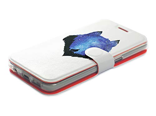 MOBIWEAR Book Style Handy Motiv Tasche Flip Case Cover Hülle für ASUS Zenfone Zoom S ZE553KL - MF10P