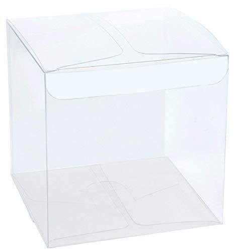 Irpot - 100 x scatolina mini cubo portaconfetti pvc 12382