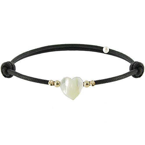les-poulettes-bijoux-bracelet-coeur-de-maman-nacre-et-perles-en-or-lien-noir