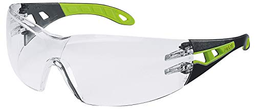 Uvex Pheos Schutzbrille - Suprav. Excellence - Transp./Schwarz-Grün