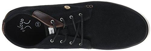 Faguo Unisex-Erwachsene wattle Hohe Sneaker Noir (Black)