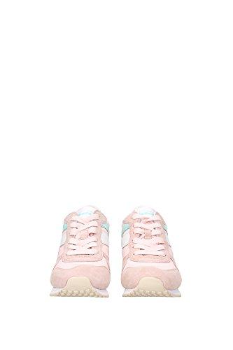 2011705880150170 Diadora Heritage Sneakers Femme Tissu Rose Rose