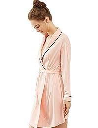 Forall-Ms Bata De AlgodóN para Mujer Bata De Kimono Suave/Ligero/Talla
