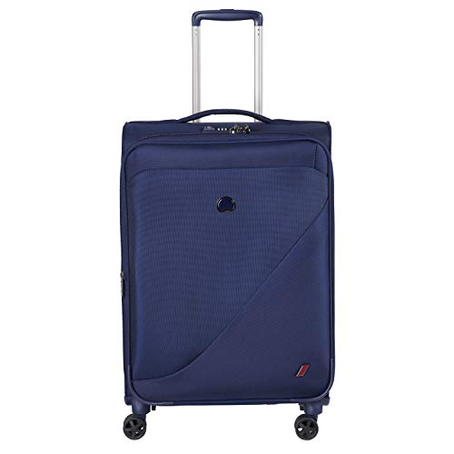 Delsey Paris New Destination Bagage Cabine, 68 cm, 66 liters, Bleu (Marineblau)