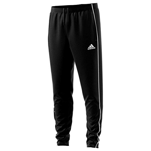 adidas Herren Core18 Training Pant Trainingshose, Black/White, XS (Training Pant Adidas)