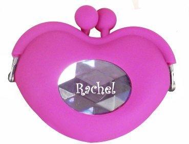 Mädchen Jelly Geldbörse, RACHEL–Pink (Jelly-geldbörse)