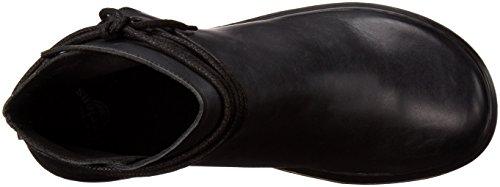 Dr. Martens Shelby Oily Illusion Black, Chaussures Bateau Femme Noir - Noir