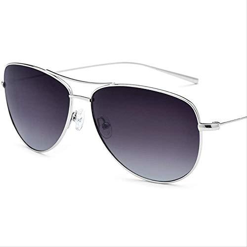 LKVNHP Hohe Qualität Titanium Sonnenbrille Männer Markendesigner Oversize Aviador Spiegel Polarisierte Sonnenbrille New Aviation Sonnenbrille Für Männer Shades