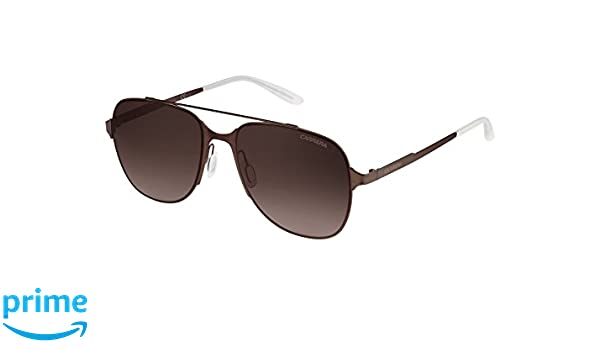 Unisex-Adults 114/S J6 Sunglasses, Brown Sematt, 55 Carrera