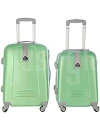 Maleta cabina 50 y 55 cm 4 ruedas trolley cascara dura adecuadas para vuelos de bajo coste art 6802