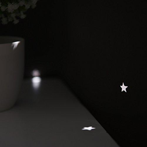 PONY DANCE ausgestanzt Sterne Verdunkelungsvorhänge mit Ösen, blinkt für Kinderzimmer, Schlafzimmer, 1 Paar - 3