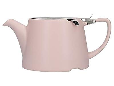 London Pottery Company 43220 Théière ovale avec infuseur pour thé en vrac en céramique