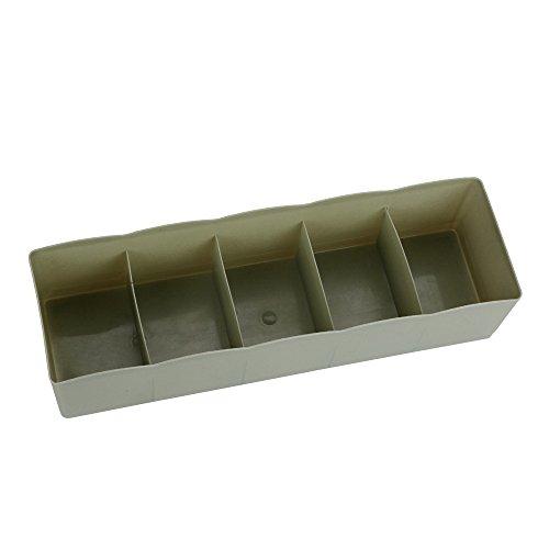 Dtuta 5 Grid Hochwertigen BH BH Socken Schlafzimmer Bad KüChe Wohnzimmer Schublade Kosmetische Trennung Kunststoff Aufbewahrungsbox