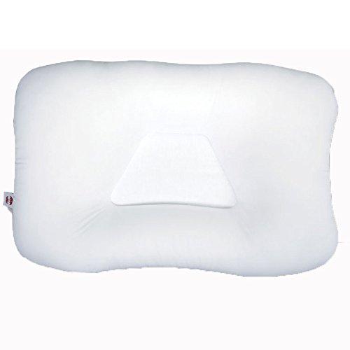 Core Products FIB-220 - Cuscino cervicale Tri-Core, supporto delicato, standard, bianco