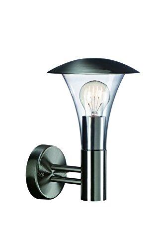 Massive 16120/47/10 - Lámpara de Pared para Exterior de Acero Inoxidable y...