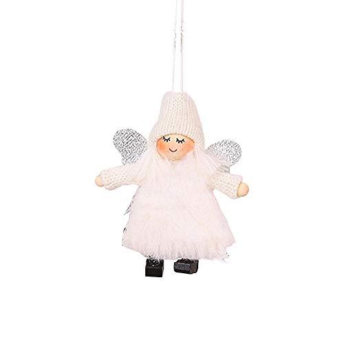 Weihnachtsbaum Passen - mildily Weihnachten Plüsch Puppe Anhänger, Weihnachten