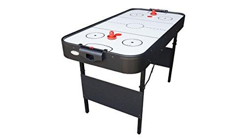 Gamesson Shark Folding Air Hockey Table - Black/White, 4 ft