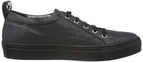 Jonny`s Vegan Damen Hanne Sneakers, Schwarz (Negro), 37 EU - 6