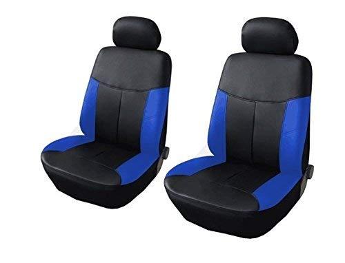 1+1 Y33511 2er Auto Sitzbezüge Schonbezüge Blau passend