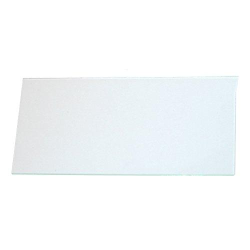 Wedo 10250199X Ersatzscheibe für Notschlüsselkasten, Glas, klar, 6.0 x 0.15 x 12.2 cm Klar-glas