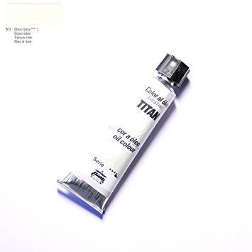 Oleo TITAN Extrafino 200 ml nº1 Blanco Titanio