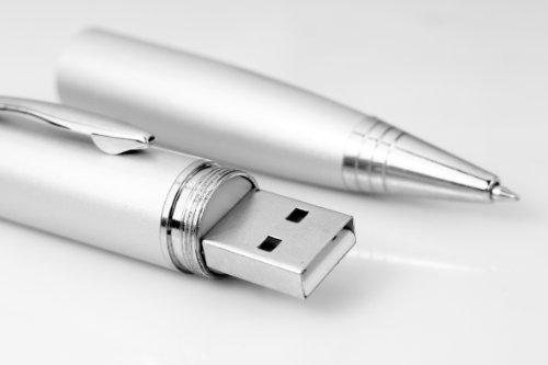 TECHNAXX VIP Video-Interview-Pen 4GB silber (Kugelschreiber mit integrierter Kamera und 4GB internem Speicher)