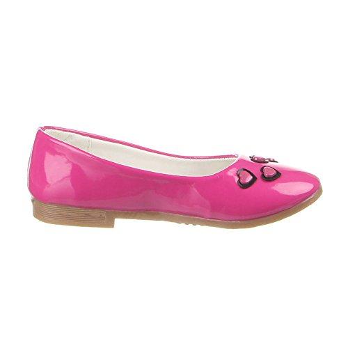 Kinder Schuhe, A9-1, BALLERINAS Pink