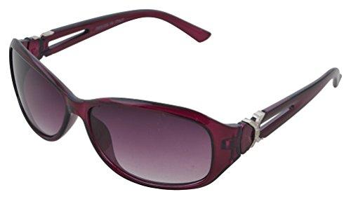 Modish Look Farbverlauf cat-eyed Frauen Sonnenbrille (60mm|) (violett, violett)