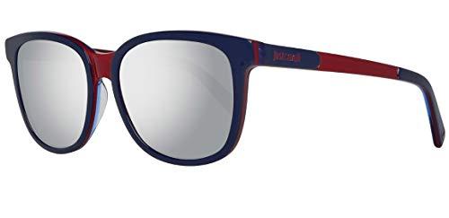 Just Cavalli Unisex-Erwachsene JC674S 92C Sonnenbrille, Blau, 54