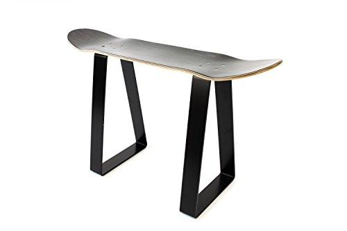 Banque de skateboard – Noir
