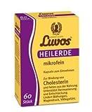 Luvos-Heilerde mikrofein Pulver zum Einnehmen Spar-Set 2x100 Kapseln. Zur Unterstützung der Darmsanierung und Entschlackung sowie zur Linderung von Magen-Darm-Beschwerden