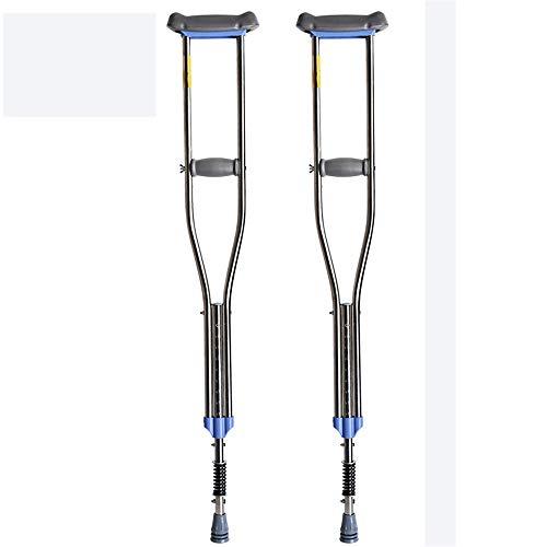 Muletas aluminio fácil ajuste altura talla juvenil,S
